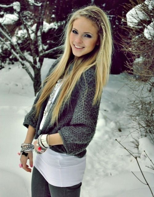 Teenblondehairblueeyes Blonde Hair And Blue Eyes Tumblrblonde Hair Girl Pretty Snow Lzbejcx