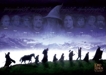 Herr der Ringe - Die Gemeinschaft des Ringes  The Lord of the Rings - The Fellowship of the Ring
