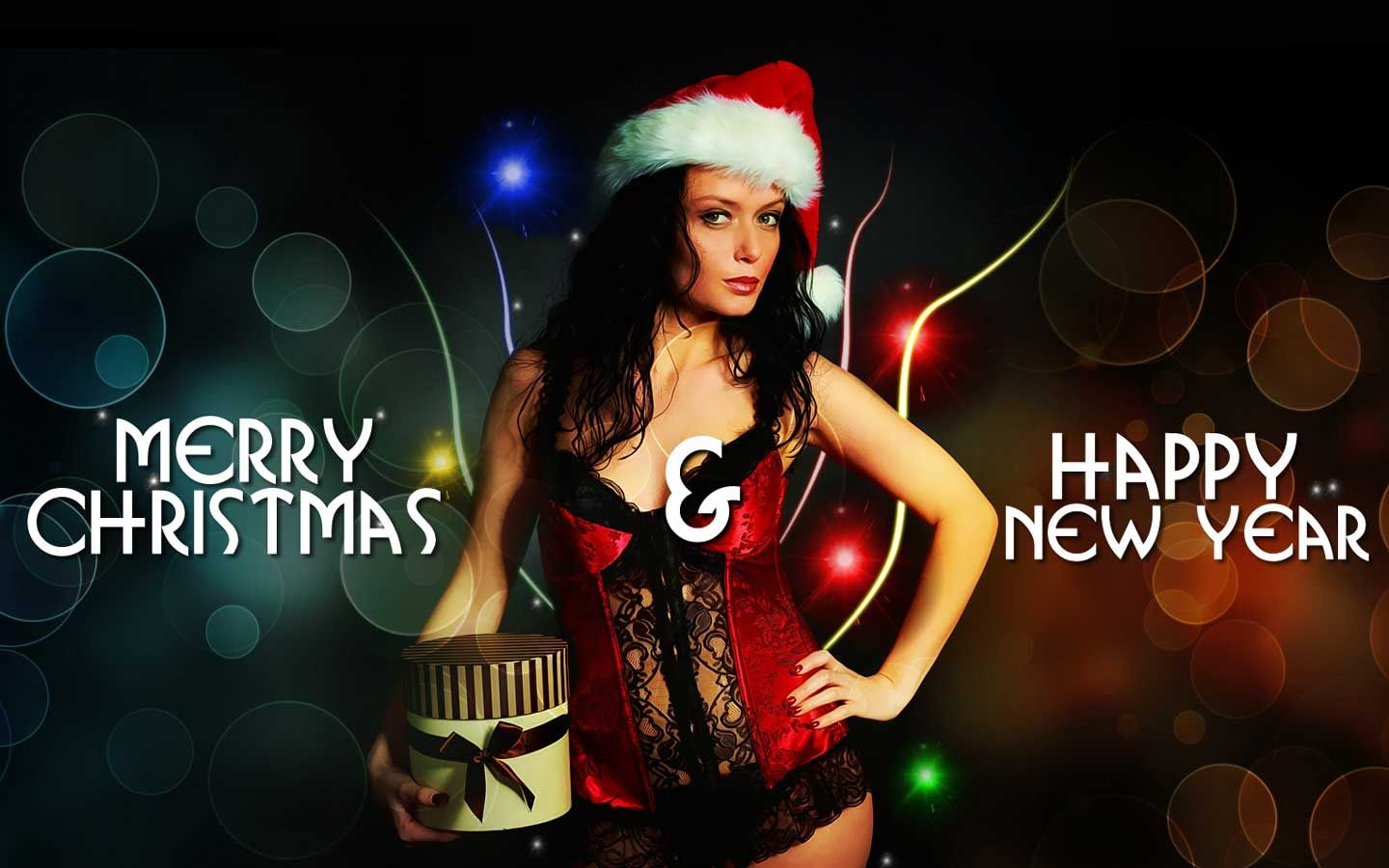 cool Hot And Sexy Christmas Girl New Year Wallpapers 2012 ...