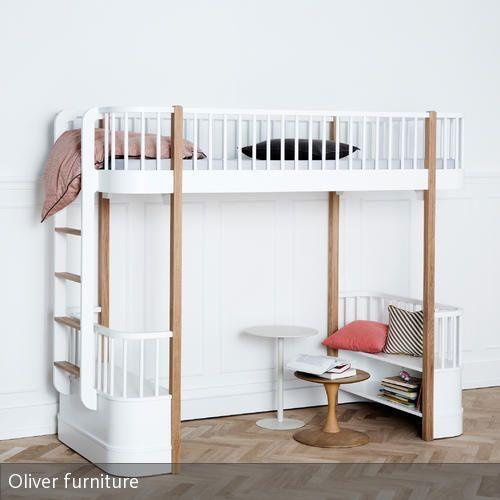 Hochbetten Fuer Kinder hochbett wood oliver furniture nordisches design hochbetten