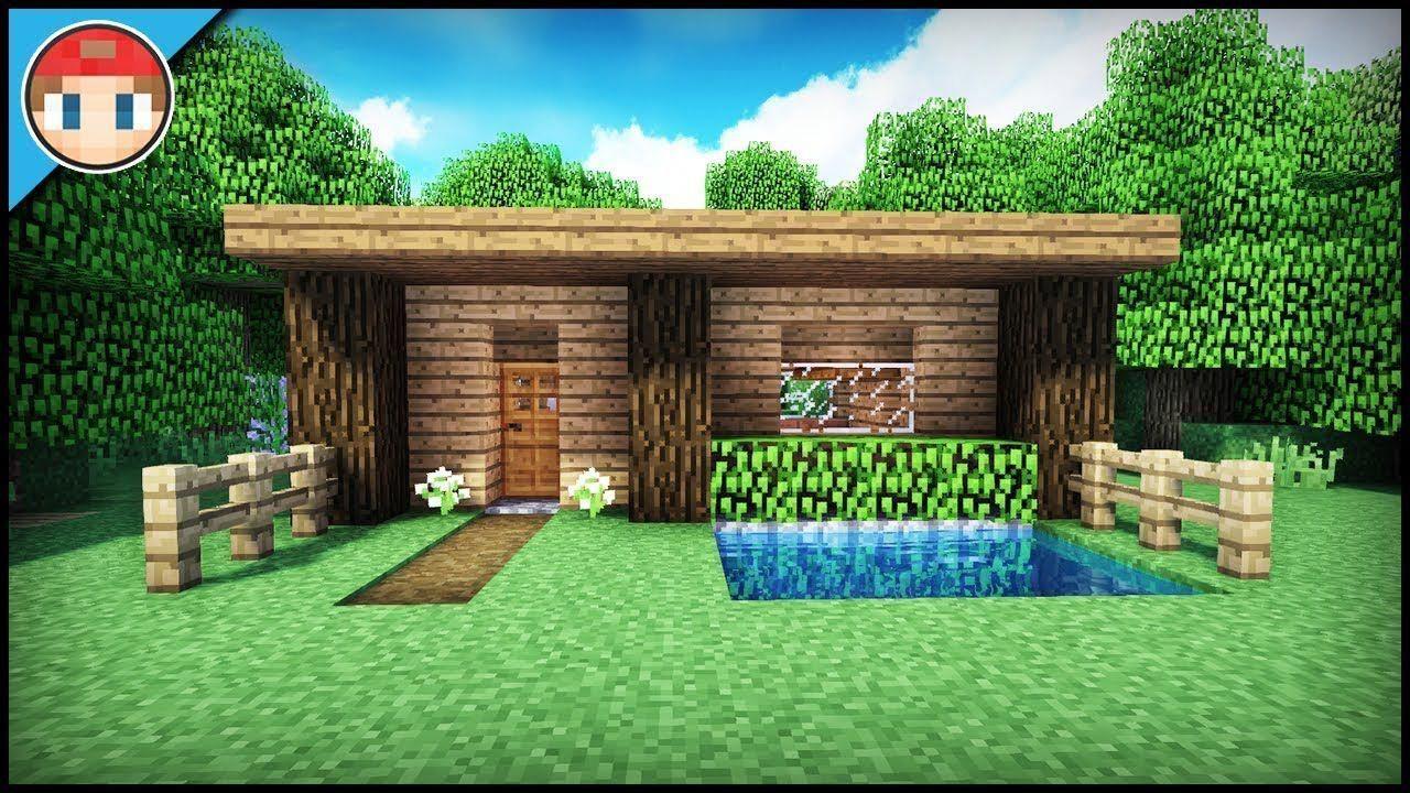The Best Starter/Survival House For Beginners! - Minecraft