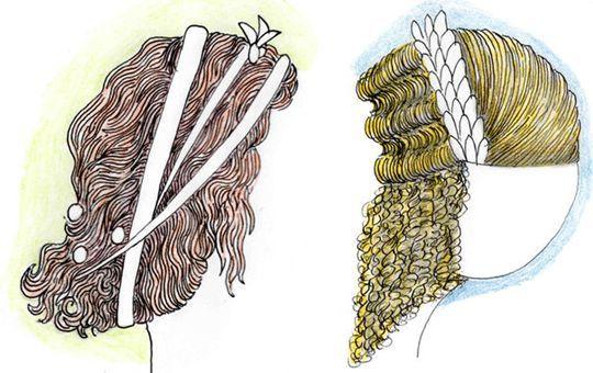 Coiffures Historiques le site du manuel de coiffures