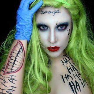 Image Result For Cute Joker Makeup For Girls Halloween
