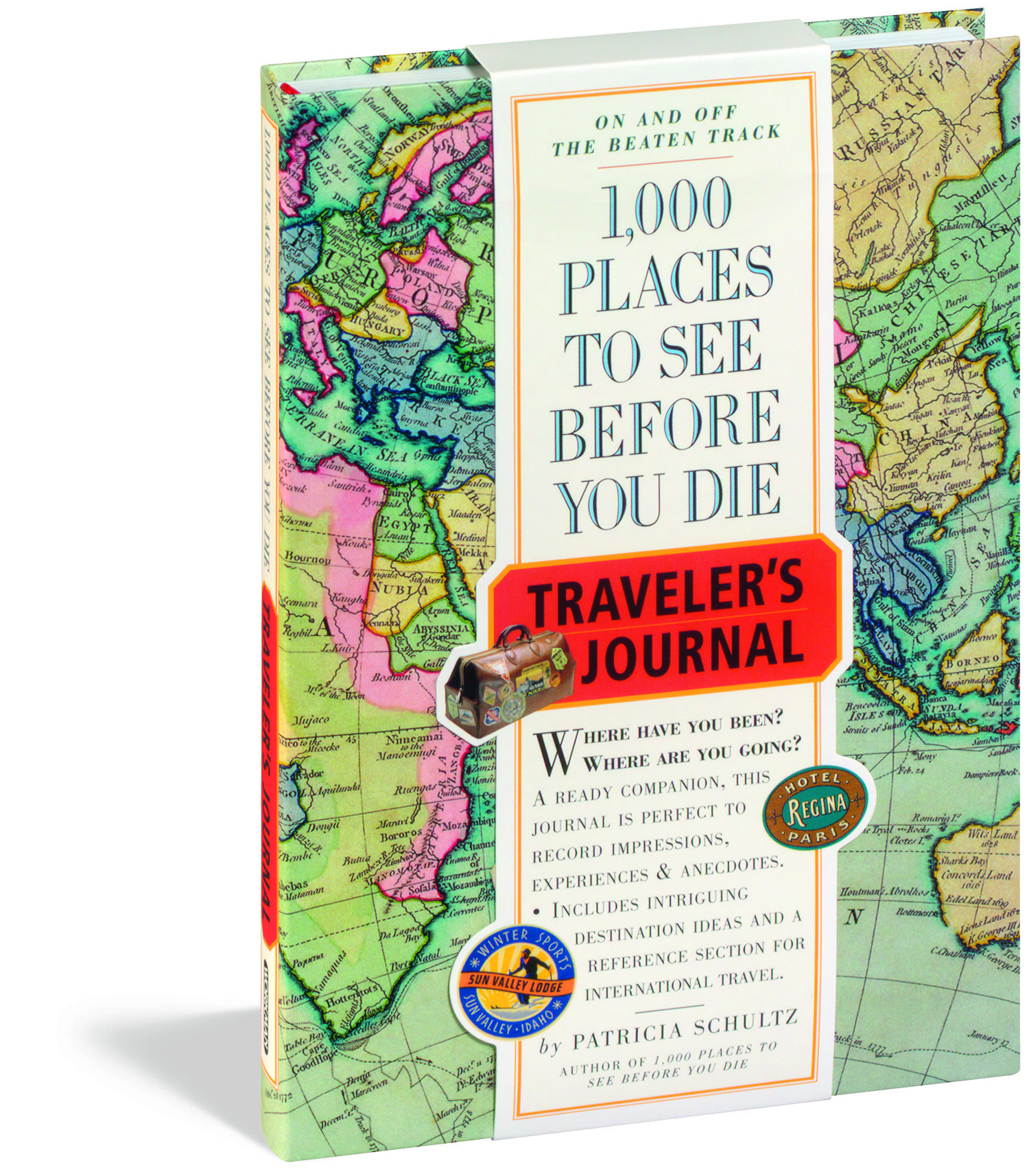 1000 PLACES TO SEE BEFORE YOU DIE TRAVELERS JOURNAL By Patricia Schultz Published Workman