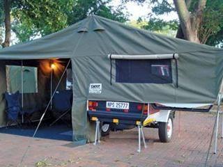Venter Trailer With Lid Bed Platform Tent Trialer Tent