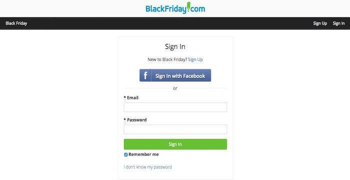 Black Friday Login Blackfriday Com Account Sign In Black