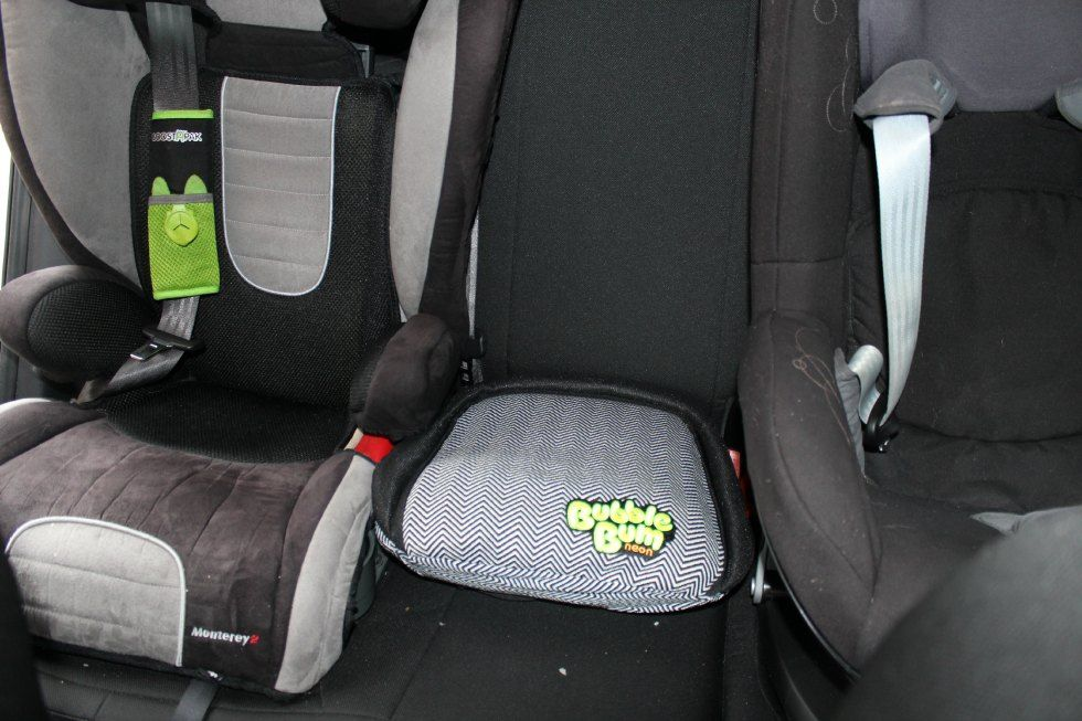 Our three car seat problem solved thanks to BubbleBum - A Review ...