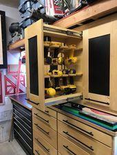 Photo of Garage Organization / Tooling Organization / Shop Organization – Dewalt Drill/Im…