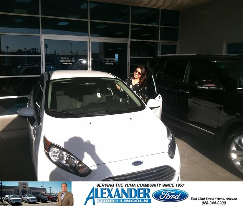 Congratulations To Diana Sanchez On Your Ford Fiesta Purchase