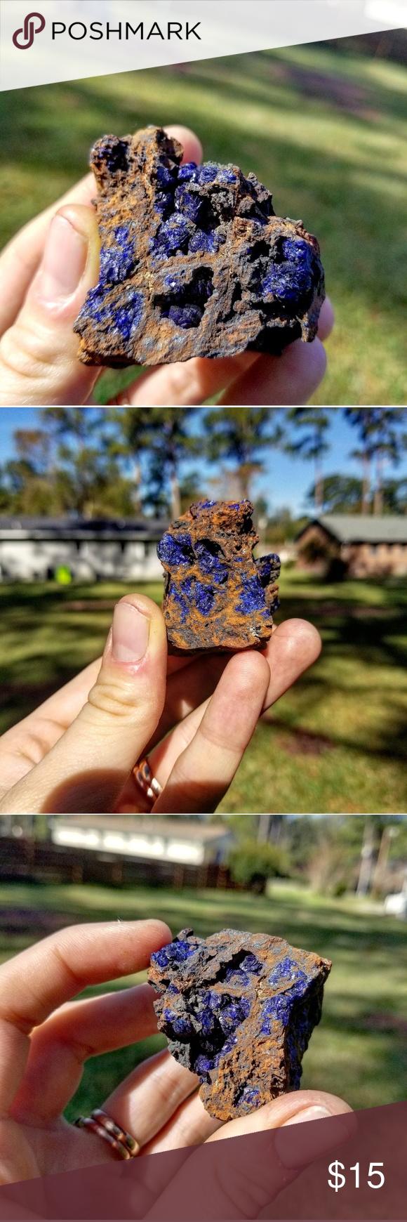 Azurite Mineral | Azurite, Blue and copper, Wire wrapping ...