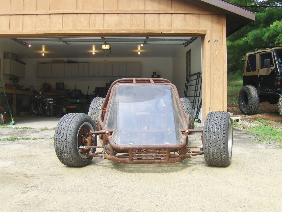 Race Car Tube Chassis Home Build BAD ASS SOLD - Great Lakes