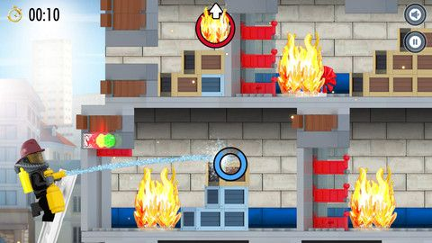 FREE IPAD APP!! Check out LEGO City Fire Hose Frenzy | FREE kids ...