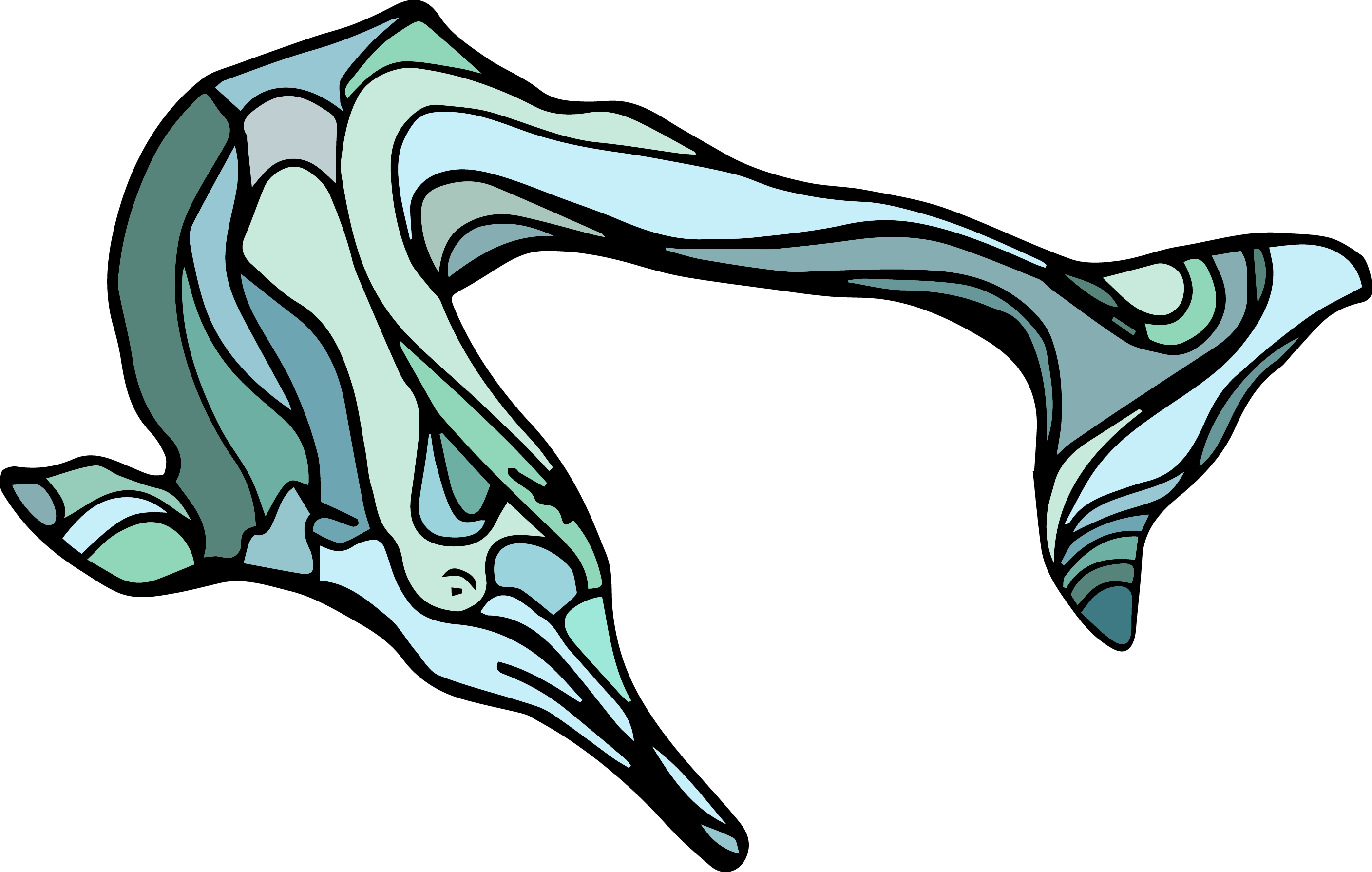 The Extinct Chinesediverdolphin From The Efrstickers