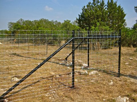 PIPE PANEL FENCE | FENCES | Cattle Fence Construction | Pinterest ...