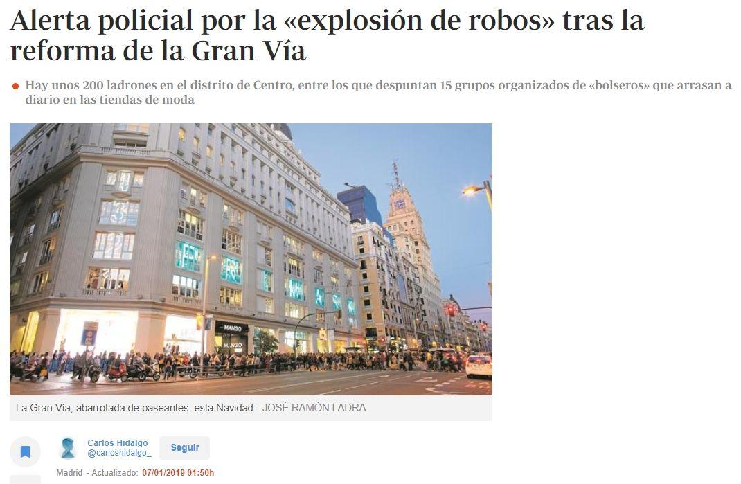 Alerta Policial Por La Explosion De Robos Tras La Reforma De La