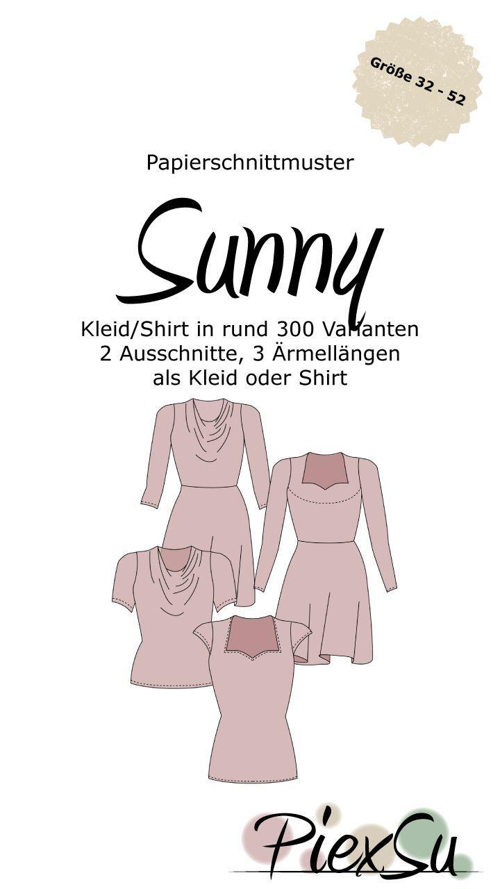 Papierschnittmuster Kleid Sunny inkl. eBook | Sunnies and Patterns