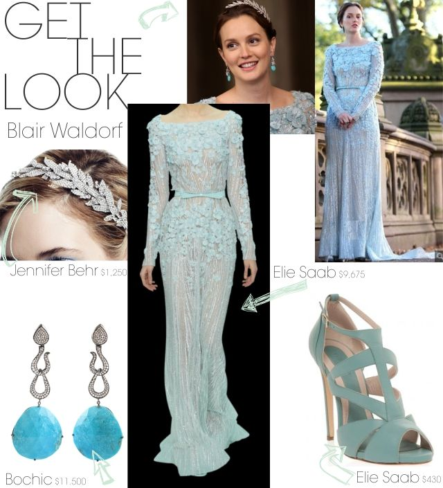 Get the Look: Blair Waldorf\'s Wedding | FASHION | Pinterest | Blair ...