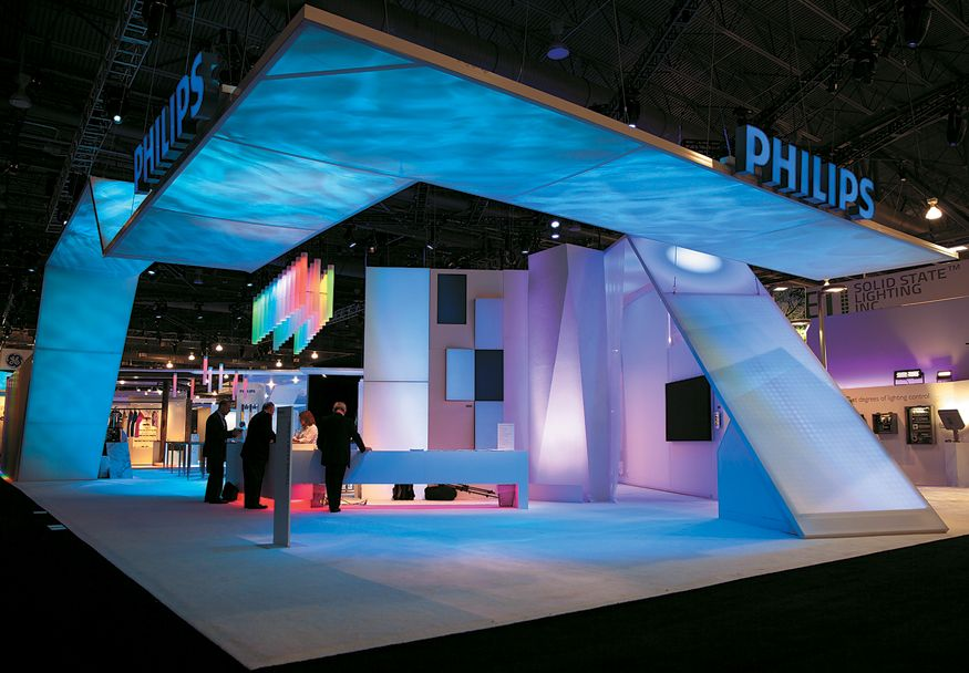Expo Stands Lightsee : City of lights creative architecture and design