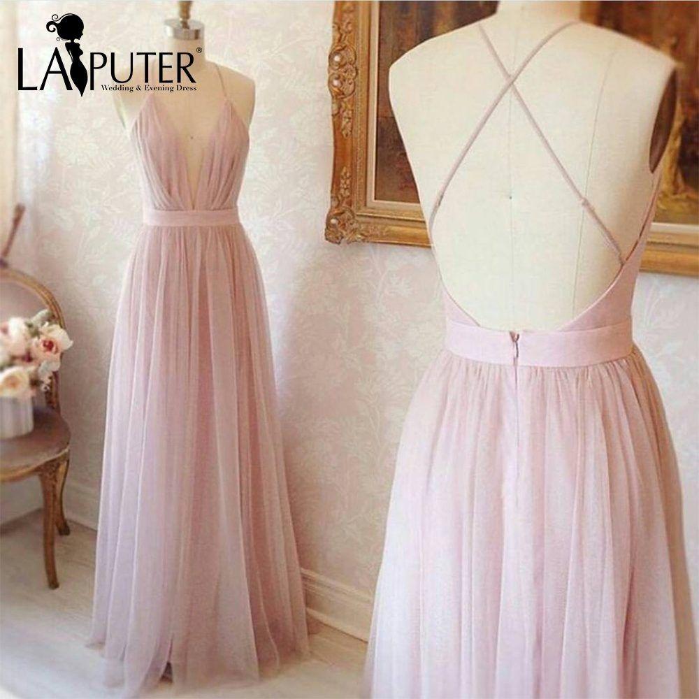 Light pink prom dress simple pdresseslightpink