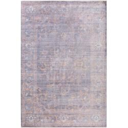 Photo of benuta Naturals viscose carpet Yuma Purple 240×320 cm – vintage carpet in used look