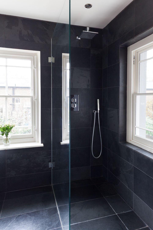 glazen douchewand badkamer pinterest teakhout natuurlijk en