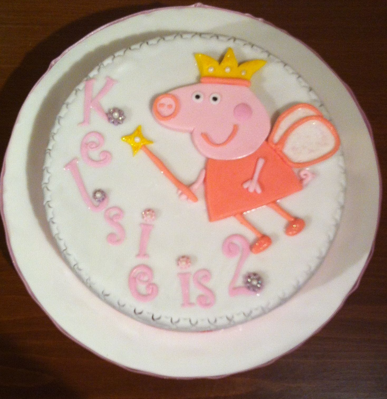 Peppa Pig Birthday Cake Sainsbury