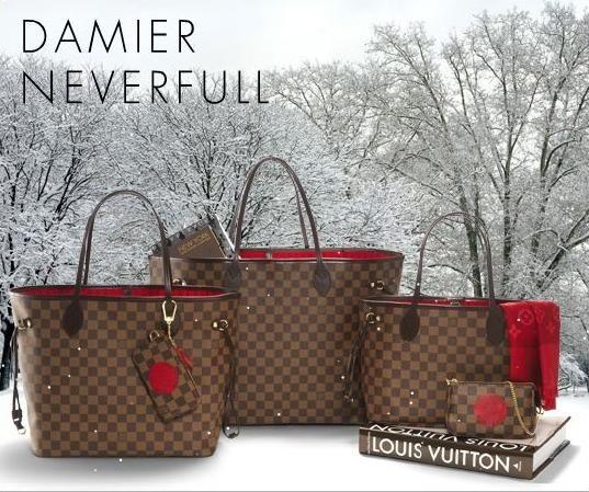 Louis-Vuitton-Neverfull-Damier-Canvas-Bag 4672d6256dd