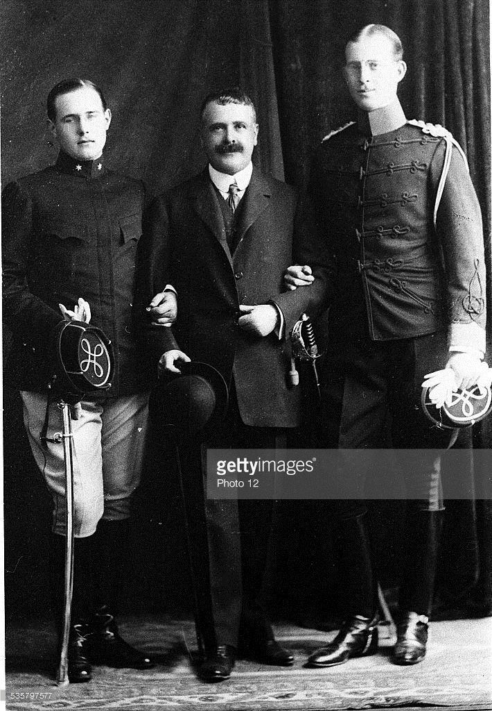 Prince Andrew of Greece and Prince Christopher of Greece, Prince ...