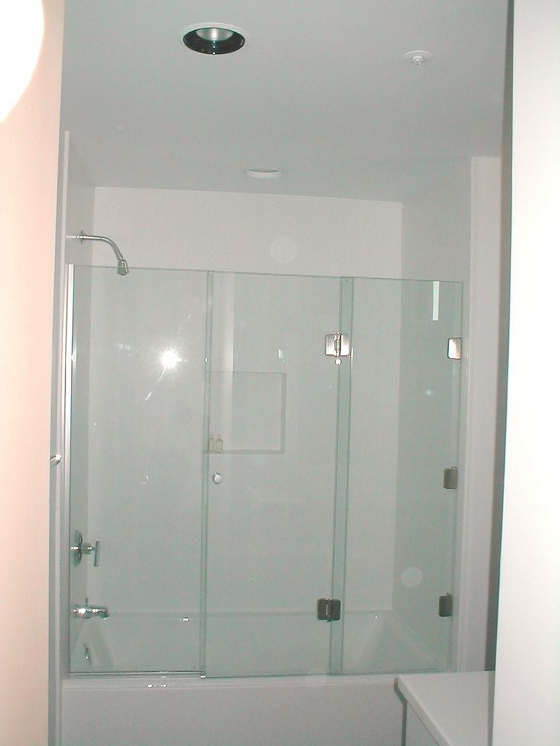 Folding Shower Doors For Bathtubs | http://sourceabl.com | Pinterest ...