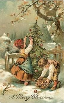 Free trinkets and treasures: 25 Days Of Free Vintage Christmas Images