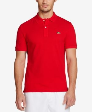 8905897d Men's Slim-Fit Polo | Products | Slim fit polo shirts, Lacoste men ...