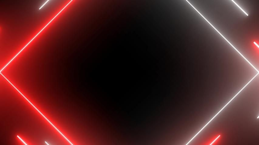 Neon Lights Abstract Motion Animated Stock Footage Video