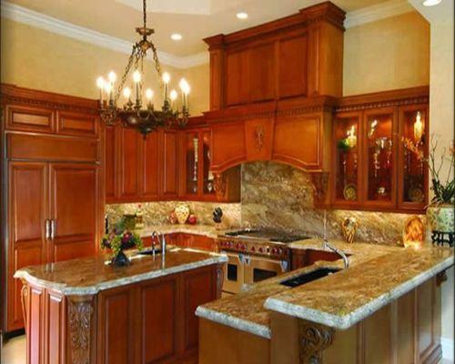 Ideen · 100 Küchen Designs U2013 Möbel, Arbeitsplatten Und Zahlreiche  Einrichtungslösungen   Neugestaltung Traditionell Küche