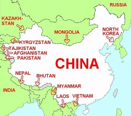 Image Result For Bhutan Map With Surrounding Countries - China maps with countries