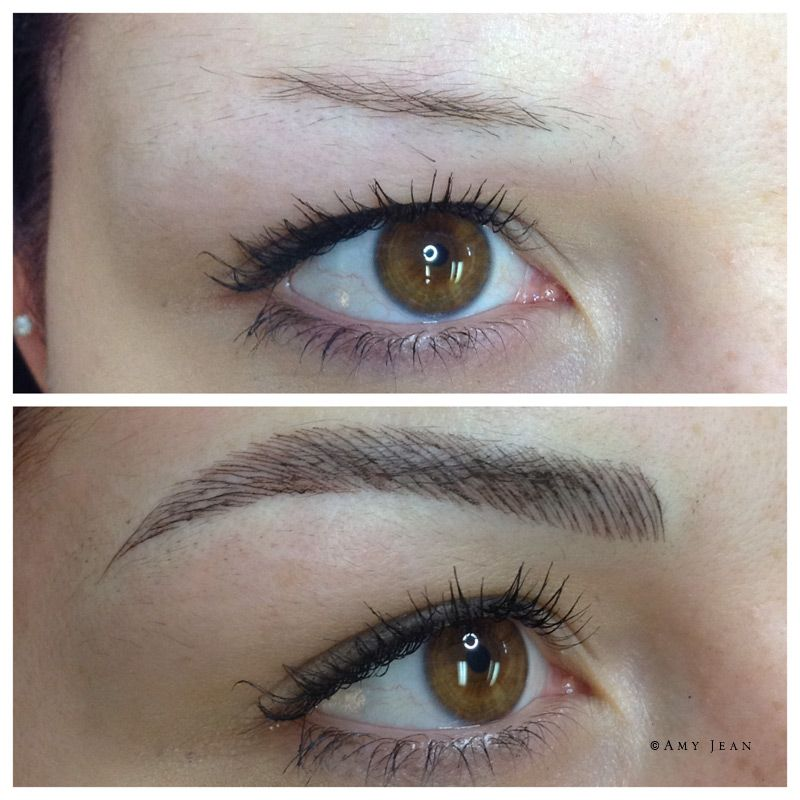 Brow Tattoo Before After Cosmetic Tattoo Eyebrows Eyebrow