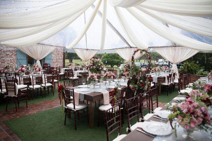 Casa feliz reception venues tent party rentals