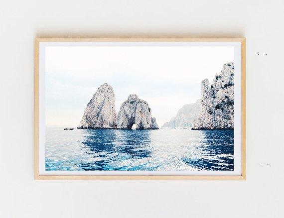 DUSTIN COHEN — Italian Beach Scene 1, Capri . . . #italy...  |Capri Beach Scenes
