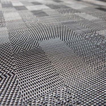 Rouleau Pvc Tisse Bolon Graphic Checked Bricoflor Avec Images Revetement Sol Idee Salle A Manger Vinyle