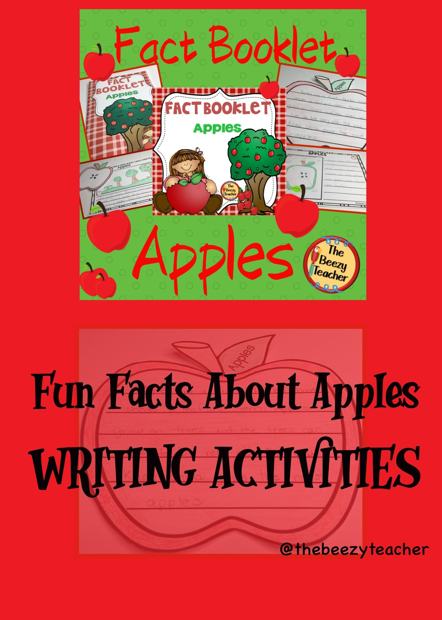 This Non Fiction Book On Apples Is A Great Resource To Use