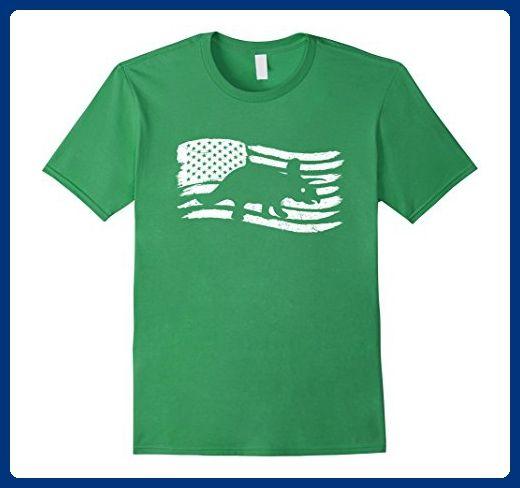 9c693826 Mens American Flag T-Shirt Kids Dinosaur Patriotic Triceratops 2XL Grass -  Animal shirts (*Amazon Partner-Link)