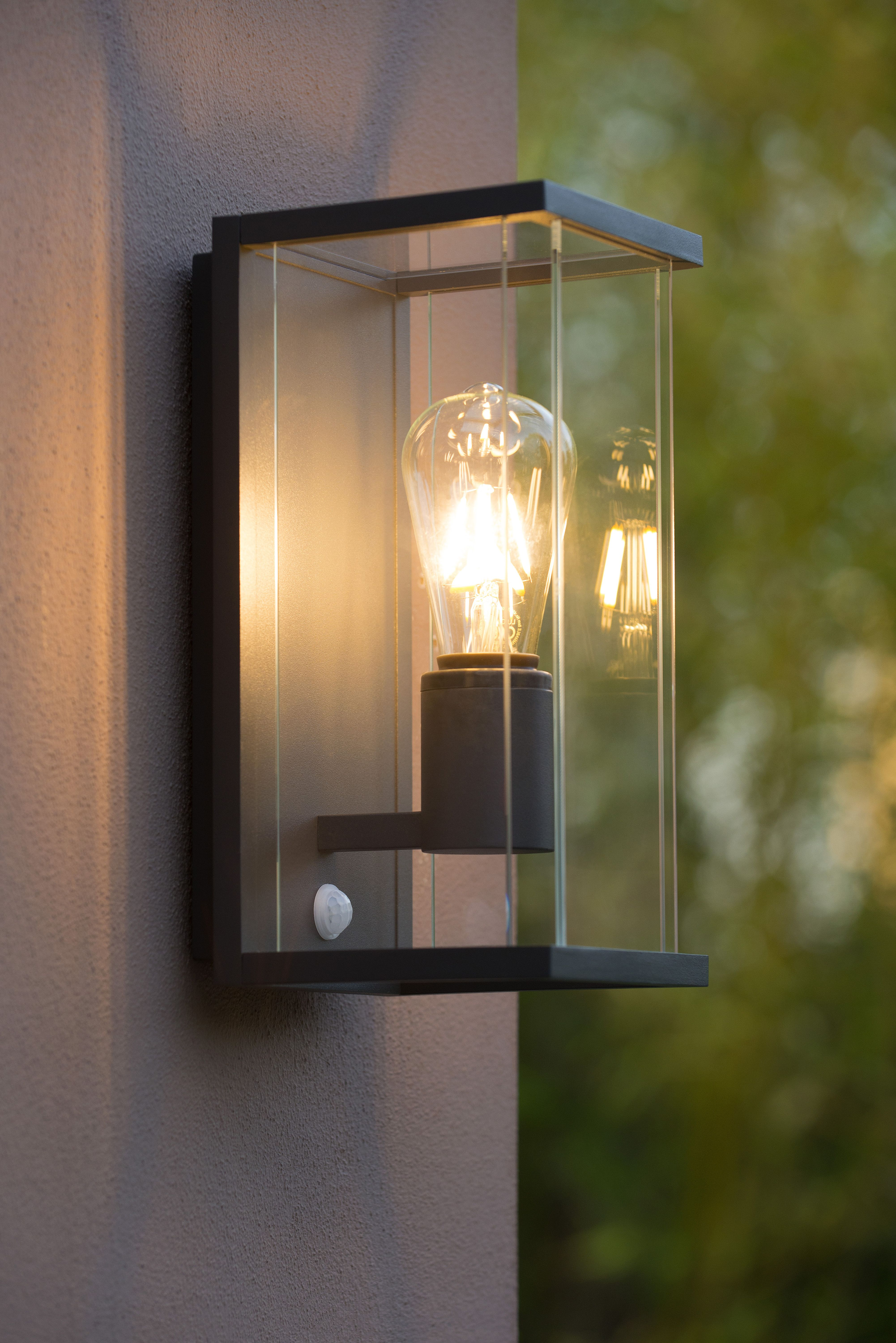Lucide Claire Wall Light Outdoor E27 Ip54 Anthracite In 2020 Outdoor Light Fixtures Outdoor Sconces Modern Outdoor Lighting