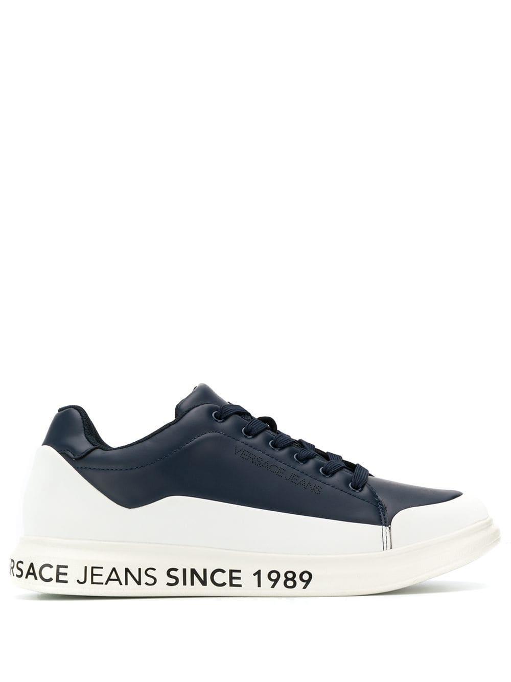 Versace Jeans Panelled Lace-up Sneakers