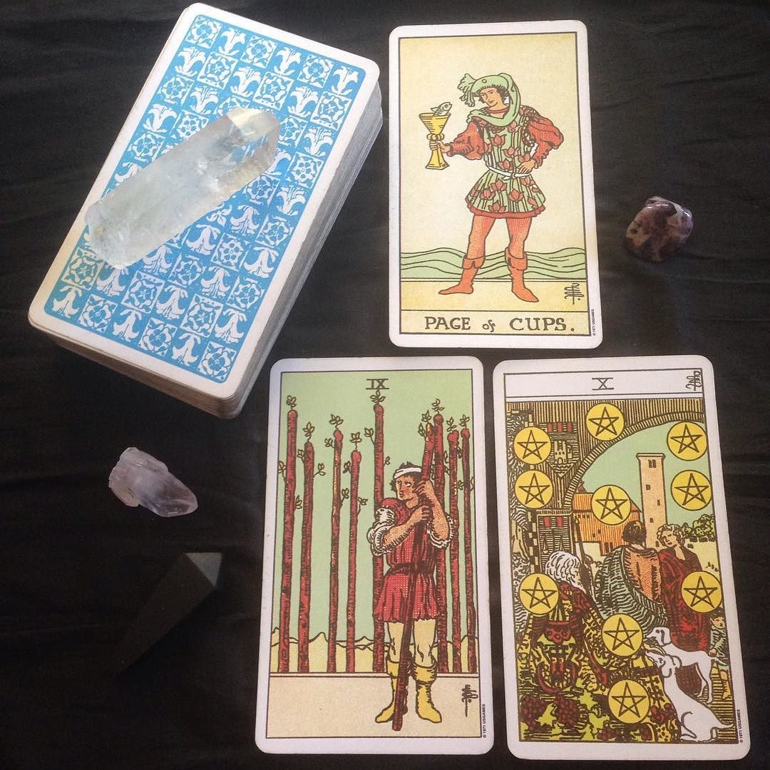 Card 1 Situation Today's energy is one of playful