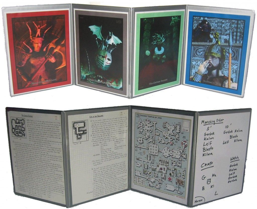 Hammerdog Games: Double Sided DM/GM screen This screen is fully