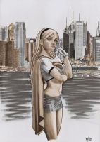 Supergirl by jefterleite