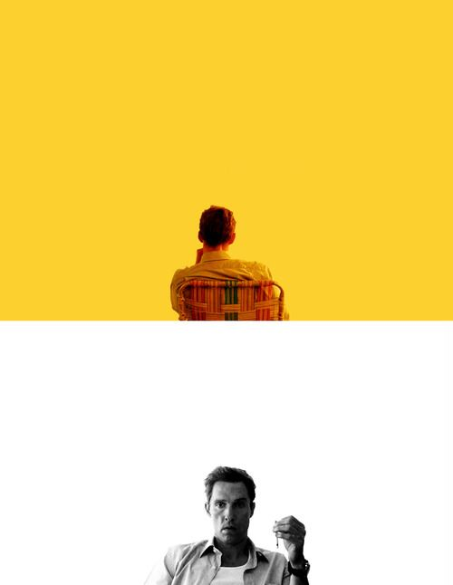 """True Detective """"That's because we know what we want and we don't mind being alone"""""""