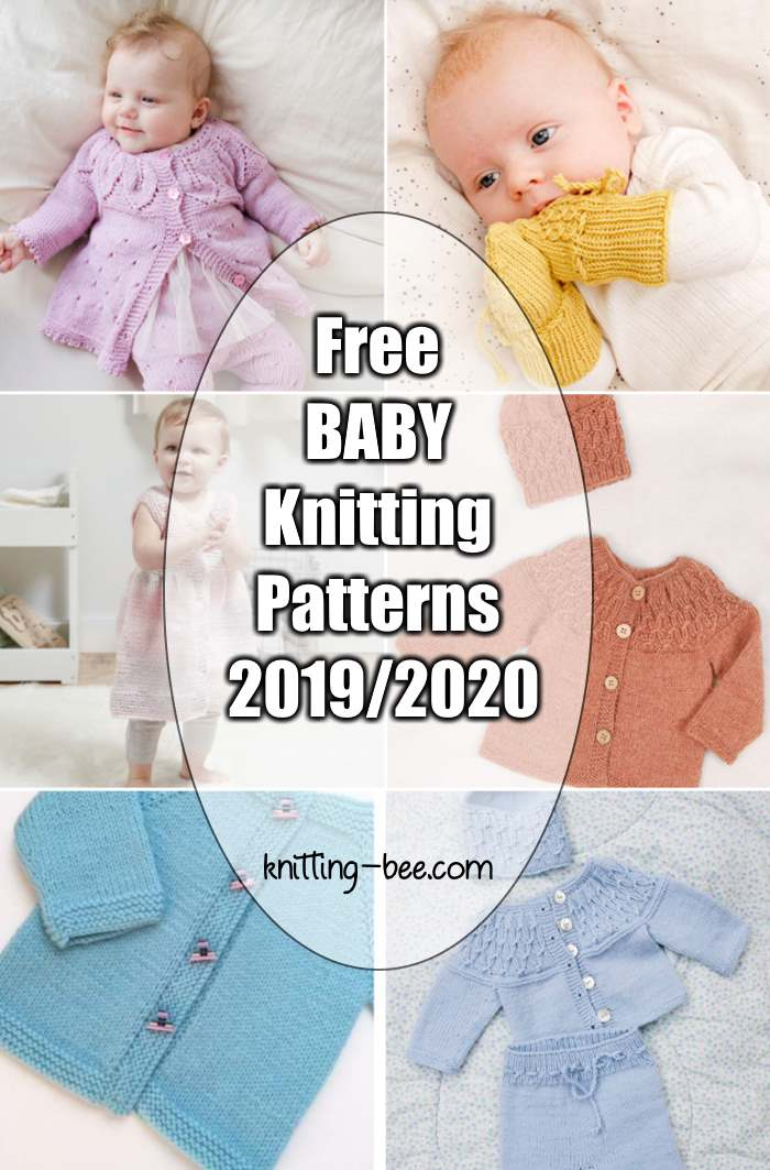 New and Free Baby Knitting Patterns 2019/2020 | Baby ...