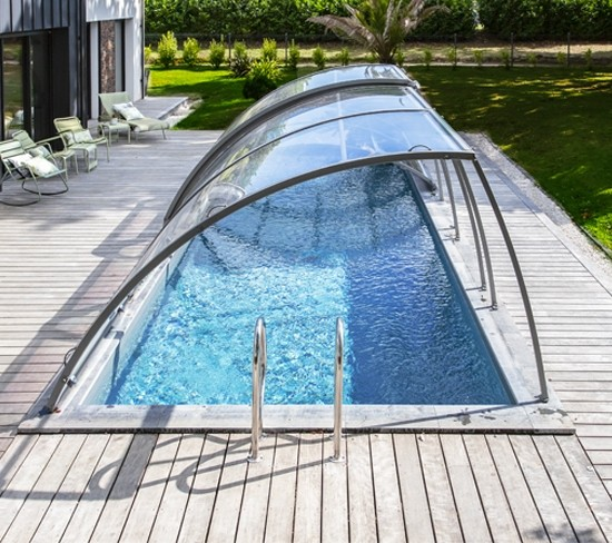Removable pool enclosure I Abrisud.co.uk I Manufacturer of ...