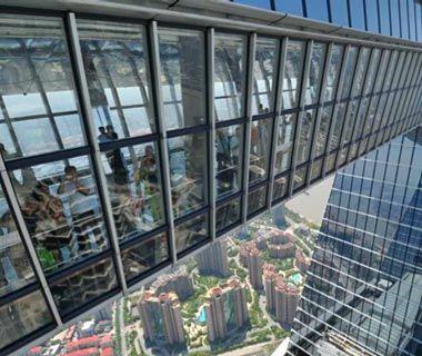 World S Coolest Observation Decks Shanghai World Financial Center Shanghai River Cruises