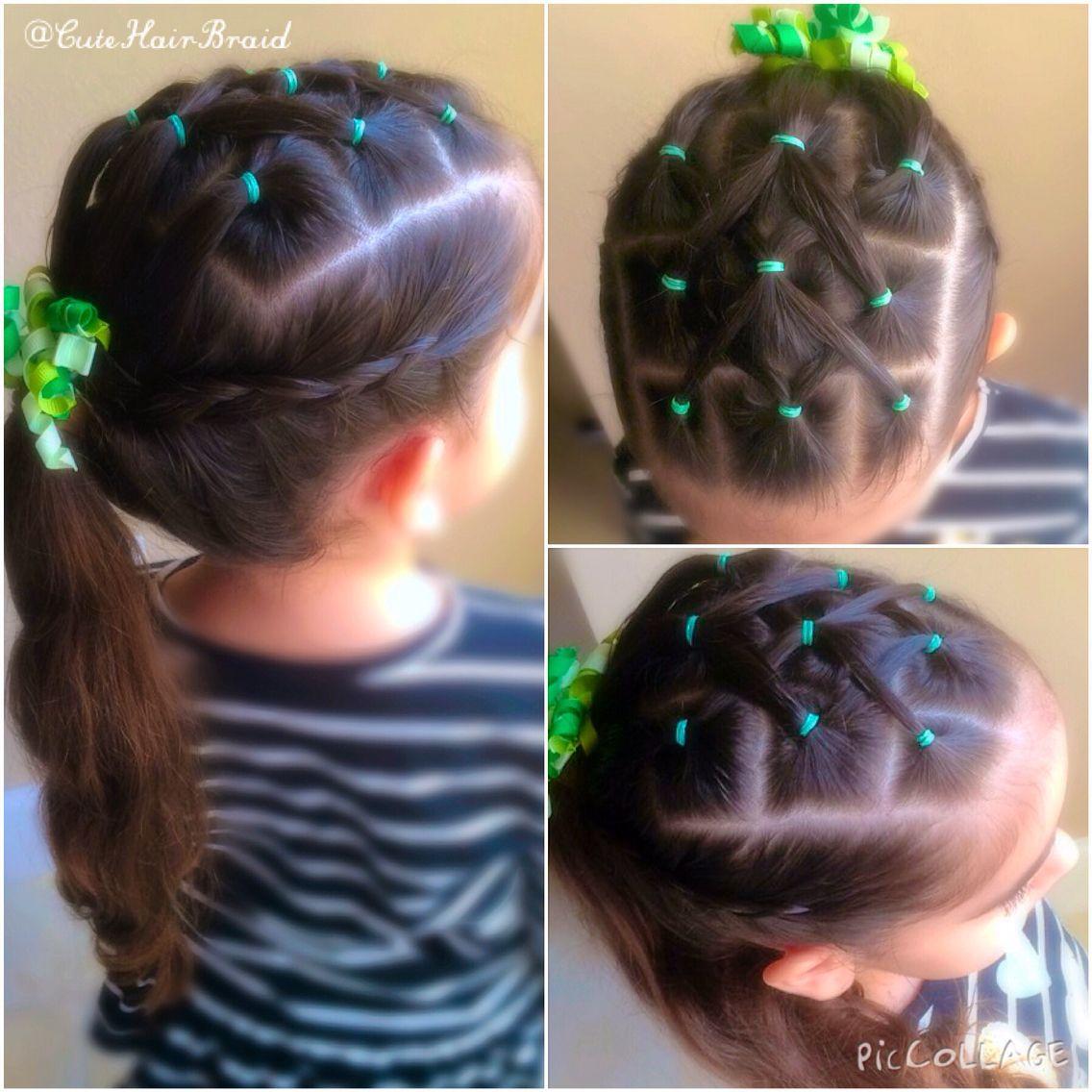 Pretty hair style for girls lindo peinados para ni as - Peinados de ninas ...